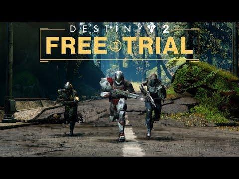 Destiny 2 - Free Trial Trailer [UK]