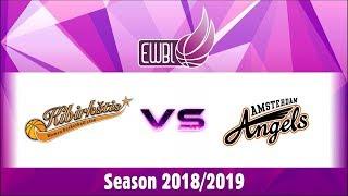 Kibirkstis Vilnius vs Amsterdam Angels – EWBL 2018/19