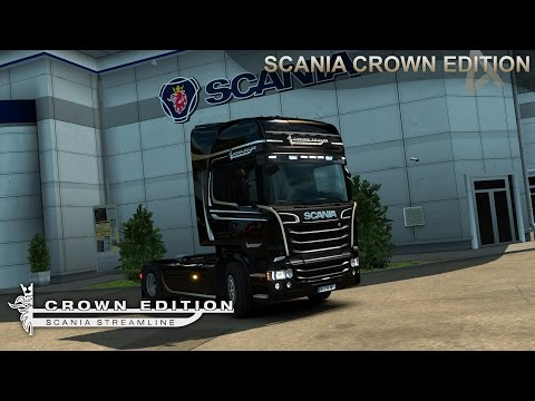 Scania Crown Edition + Colored Display