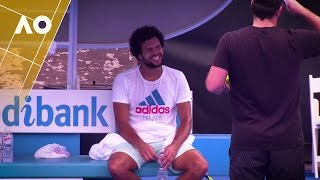 Training Day with Jo-Wilfried Tsonga, presented by Blackmores | Australian Open 2017