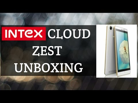 Intex cloud zest unboxing
