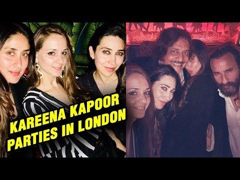 Kareena Kapoor ENJOYS Last Day In London With Saif