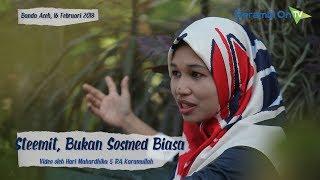WOW 'esteem', Aplikasi Mobile Steemit Ada Fitur Bahasa Aceh