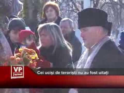 Cei uciși de teroriști nu au fost uitați