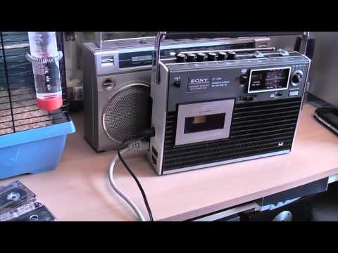 Using your iPod with a  Retro Boombox / Ghetto Blaster