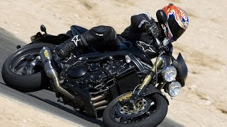3. 2007 Triumph Speed Triple - Streetfighter Comparo II - MotoUSA
