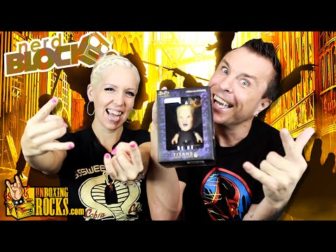 """Nerd Block (July 2015) """"Humanity's Last Hope"""" Unboxing Review"""