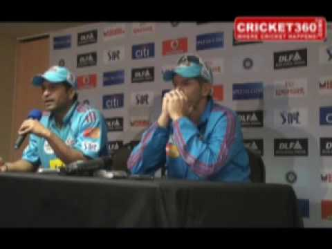 Mumbai Indians News Conference after win against CSK - April 18th 2009