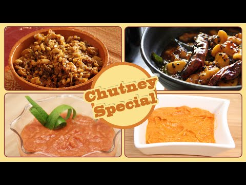 Chutney Special | Quick & Easy Homemade Chutney Recipes