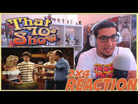 LAURIE AND THE PROFESSOR | That '70s Show 2x4 REACTION | Season 2 Episode 4