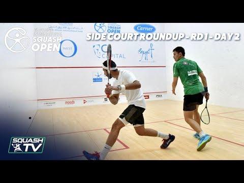Squash: Side Court Roundup - El Gouna International 2019 Rd 1 - Day 2