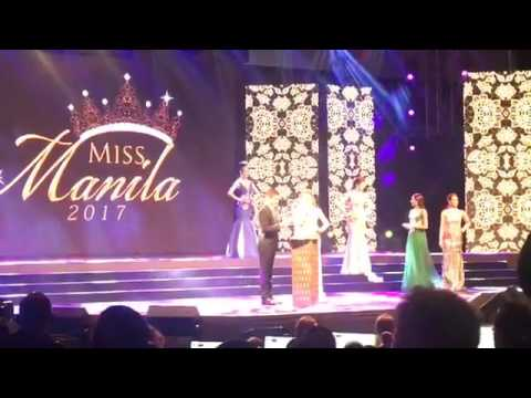 MISS MANILA 2017  TOP 5 Final Q and A