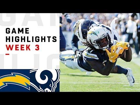 Chargers vs. Rams Week 3 Highlights | NFL 2018 - Thời lượng: 11:00.