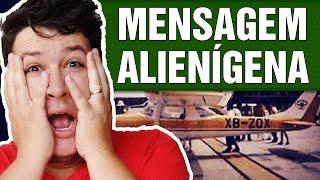"""Piloto tem a """"Fala Manipulada"""" e Transmite Mensagem Alienígena. Ouça! (#239 - Notícias Assombradas)"""