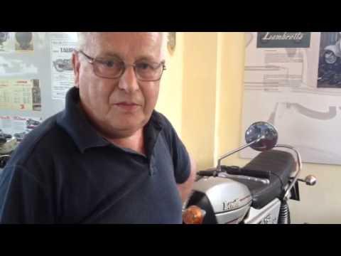 La moto preferita di Pietro Allievi