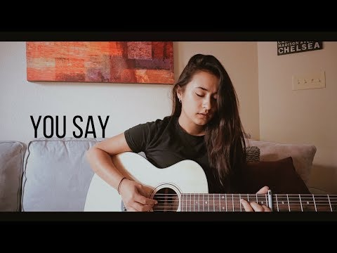 Video YOU SAY // Lauren Daigle (acoustic cover) download in MP3, 3GP, MP4, WEBM, AVI, FLV January 2017