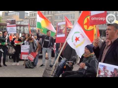 Opnieuw Koerdische demonstratie tegen IS in Arnhem