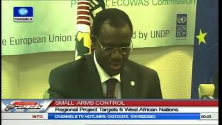 ECOWAS, EU Launch Small Arms Control Project To Fight Terror