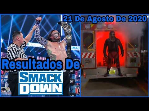 RESULTADOS De SmackDown 21 De Agosto De 2020// Jeff Hardy Es El NUEVO CAMPEÓN INTERCONTINENTAL