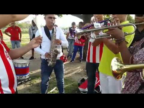 Frente Rojiblanco Sur - Ensayo trompetas y saxo - Frente Rojiblanco Sur - Junior de Barranquilla