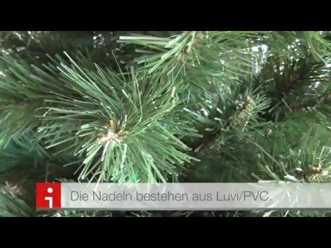 Künstlicher Weihnachtsbaum Test - Tanne Lena
