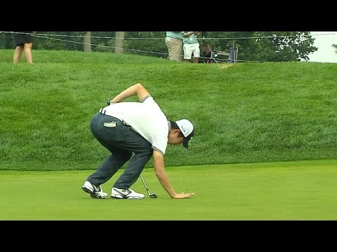 Seung - In the second round of The Barclays 2014, Seung-Yul Noh's tee shot on the 11th hole landed on the green of the 3rd hole. Unaware he was supposed to take a fr...