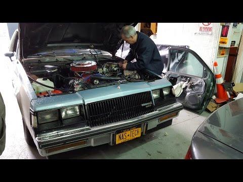 CDS Stage-1 Buick 455 Regal ELECTRIC BRAKE VACUUM PUMP testing.  2-23-2016