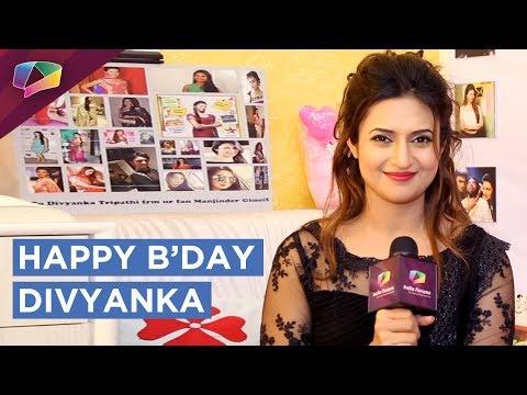 Divyanka Tripathi Dahiya Celebrates Her Birthday |