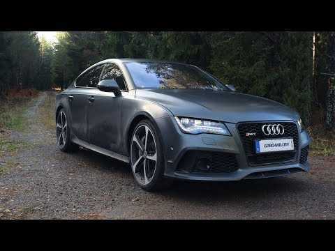 Ultra HD 4K Audi RS7 review in Ultra HD by GTboard.com – presented by Samsung