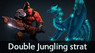 Double Jungling Axe + Winter Wyvern — Fnatic vs coL Epicenter Dota 2