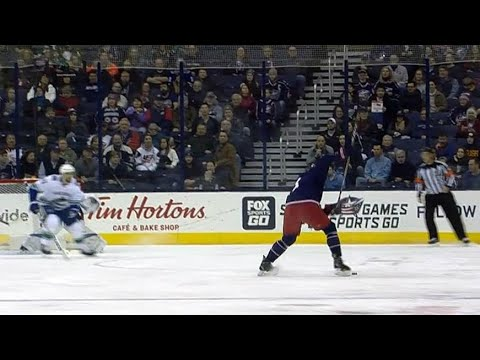 Seth Jones rips one past Markstrom for early PP goal