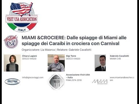 Video MIAMI &CROCIERE: Dalle spiagge di Miami alle spiagge dei Caraibi in crociera con Carnival (22-5-2018)