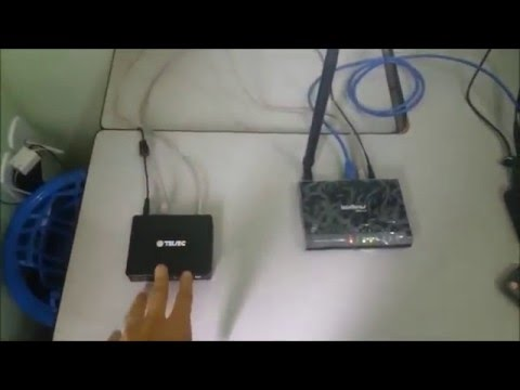 HTV Box - Esquema de Ligação - Wifi ou Cabo de Internet