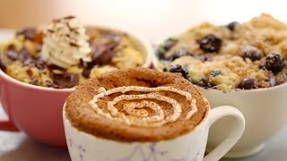 1 Minute Microwave Mug Breakfasts (with Egg-Free recipes) - Gemma's Bigger Bolder Baking Ep 76 -