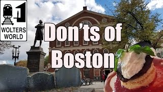 Video Visit Boston - The DONTS of Visiting Boston MP3, 3GP, MP4, WEBM, AVI, FLV Juli 2018