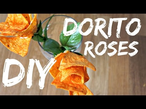 How to make DIY Doritos Roses for Valentine's Day
