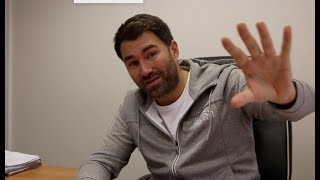 EDDIE HEARN RAW! -REFLECTS ON WHYTE-CHISORA, JOSHUA, WILDER, TYSON FURY, KHAN-BROOK, SAUNDERS, PRICE