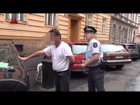 V Praze se strážníky