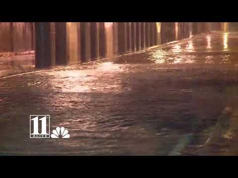 Hurricane Michael brings flooding to Atlanta