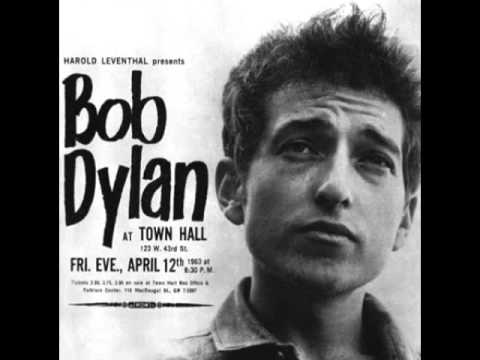 BOB DYLAN - Boots Of Spanish Leather (from Live at Town Hall, Apr 12, 1963)
