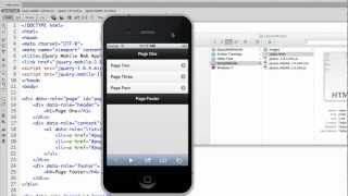 Part 2: JQuery Mobile Preview Fix In DreamWeaver