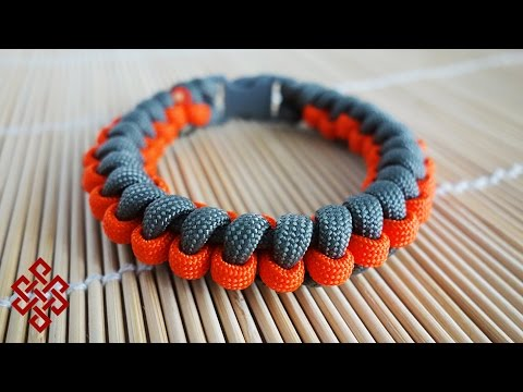 How To Make The Gear Wheel Paracord Bracelet Tutorial