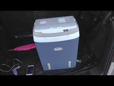 Car fridge test - Crivit vs. Ezetil - Which is the winner?