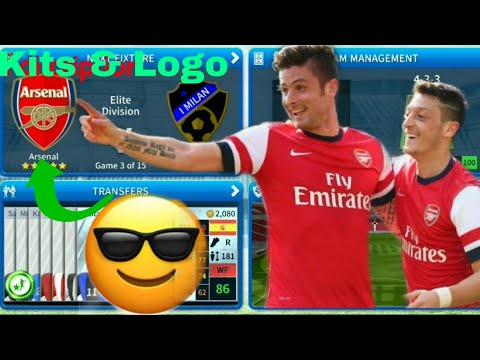 How To Create Arsenal FC Team Kits & Logo 2019 | Dream League Soccer 2019
