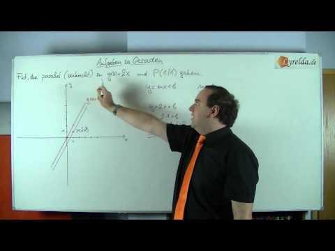 Geraden - Lösung 4