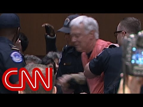 Protesters forcibly removed from Gina Haspel hearing