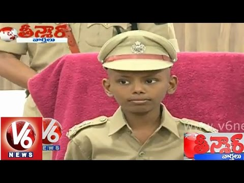 Sadiq an ill boy as Police Commissioner of Hyderabad for a day  Teenmaar News