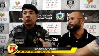 Operação entre Polícia Civil e Militar resulta na prisão de cinco pessoas; Droga e armas foram apreendidas