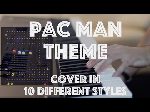 Pac Man Original Theme Cover in 10 Different