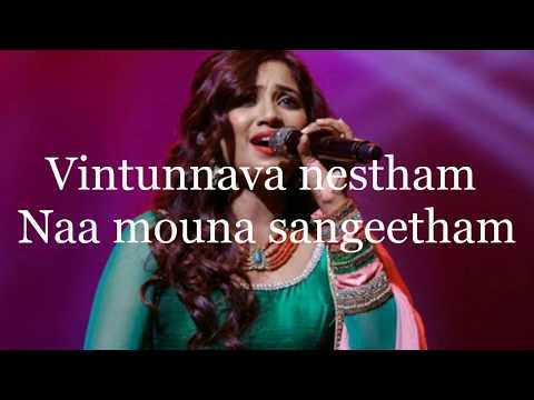 Video Vintunnava Nestham(Female) Lyrical Song| Nee Jathaga Nenundali|Shreya Ghoshal|Sachin Joshi|Mithoon|| download in MP3, 3GP, MP4, WEBM, AVI, FLV January 2017